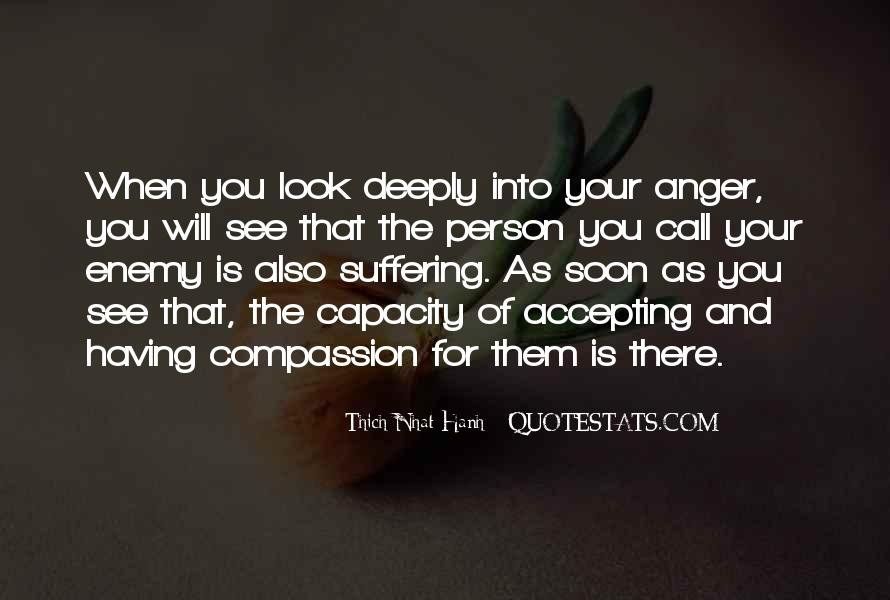Quotes About Compassion Thich Nhat Hanh #154041