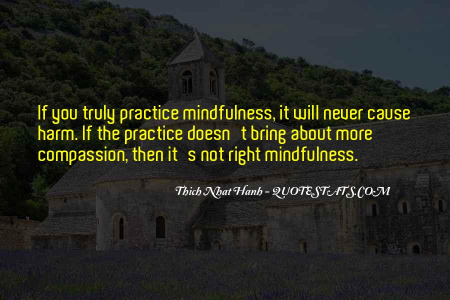 Quotes About Compassion Thich Nhat Hanh #302988
