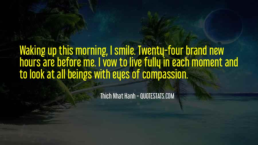 Quotes About Compassion Thich Nhat Hanh #583436
