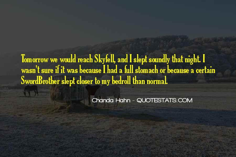 Chanda Quotes #1183360