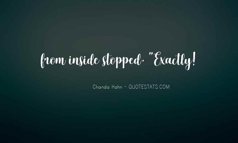 Chanda Quotes #1836939