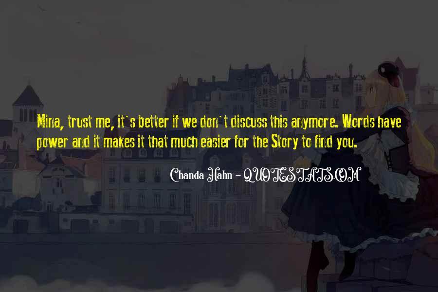 Chanda Quotes #413448