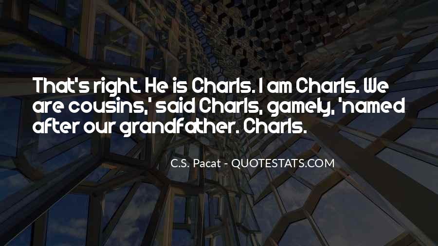 Charls Quotes #1277040