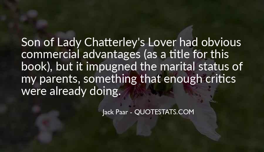 Chatterley's Quotes #268960