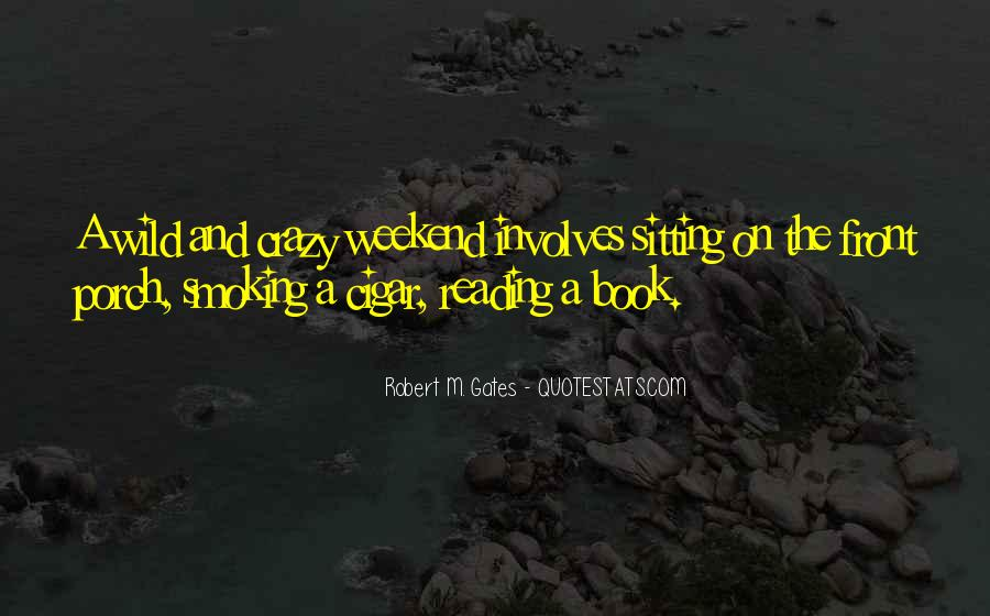 Quotes About Cigar Smoking #1281244
