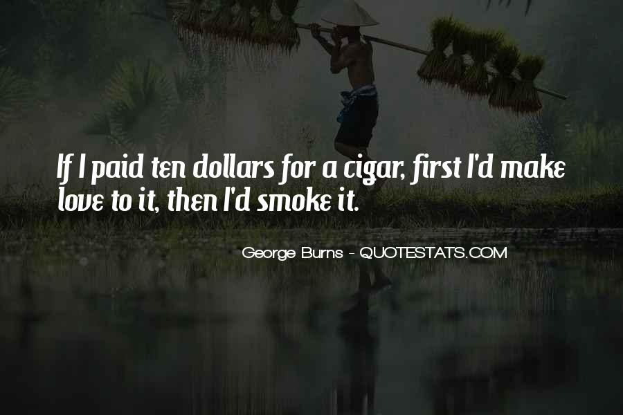 Quotes About Cigar Smoking #1676375