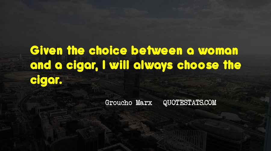 Quotes About Cigar Smoking #1777840
