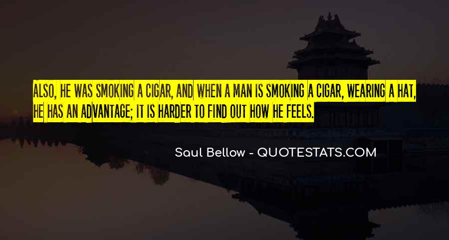 Quotes About Cigar Smoking #1821344