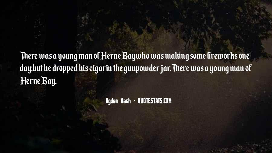 Quotes About Cigar Smoking #50505