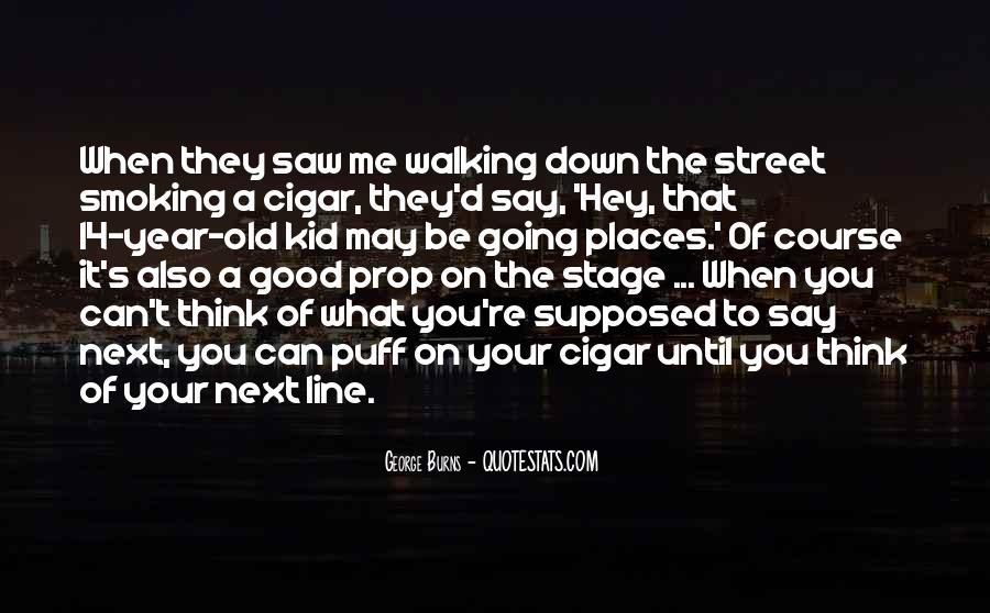 Quotes About Cigar Smoking #635883