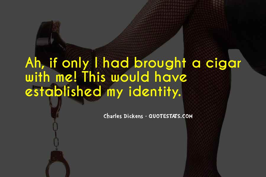 Quotes About Cigar Smoking #654472