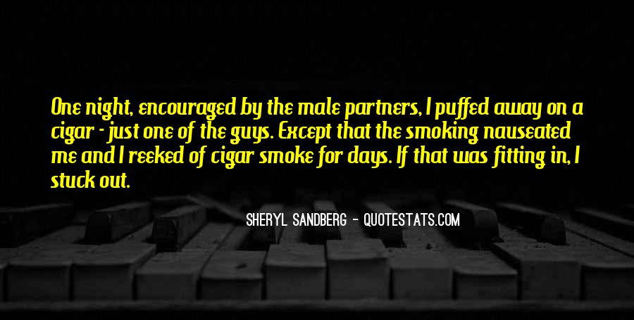 Quotes About Cigar Smoking #761294