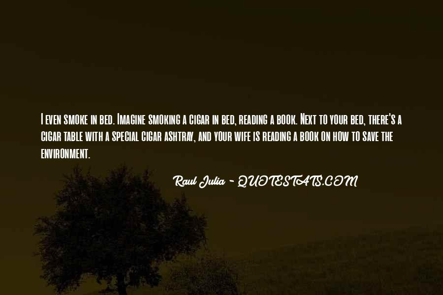 Quotes About Cigar Smoking #939813