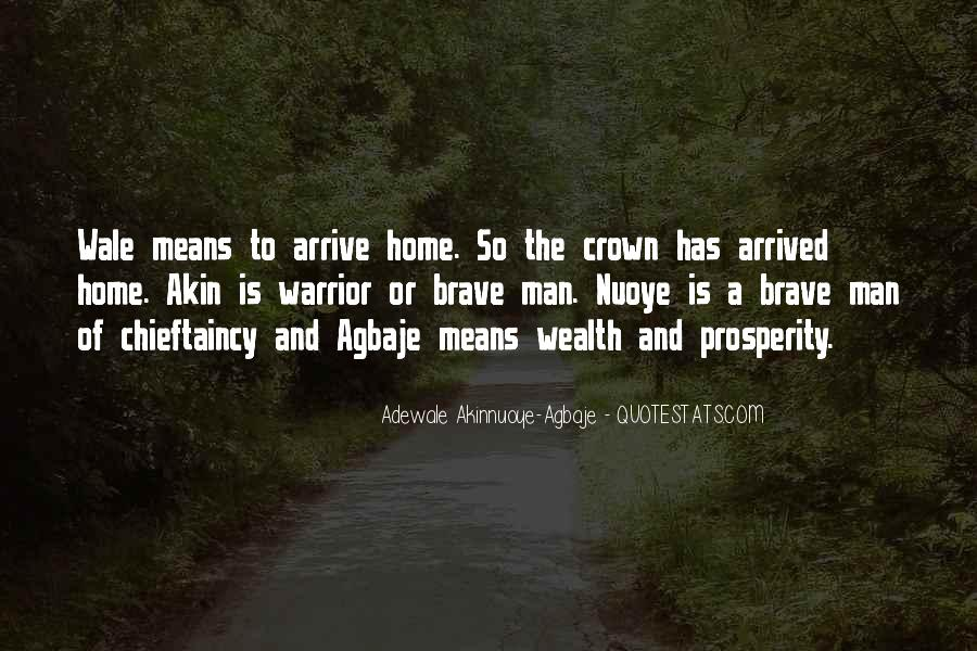 Chieftaincy Quotes #1207833