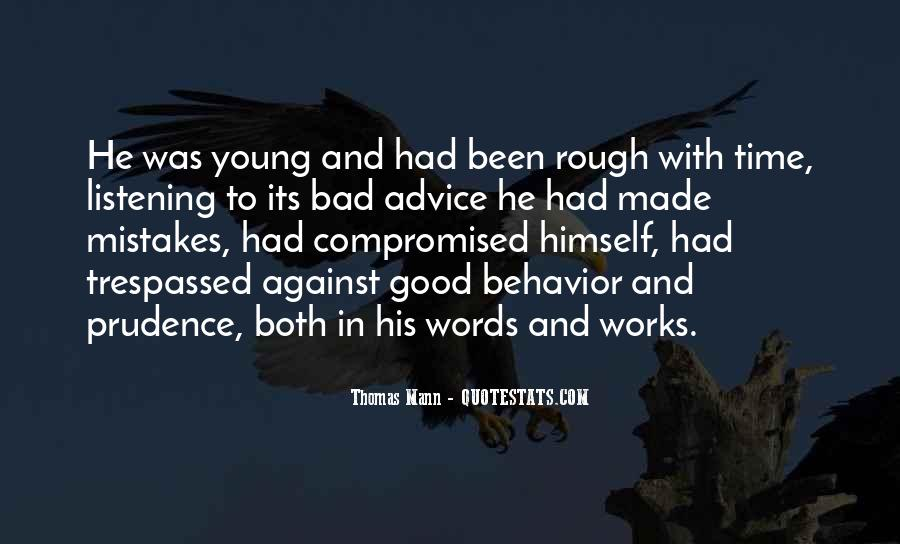 Quotes About Listening To Bad Advice #849125