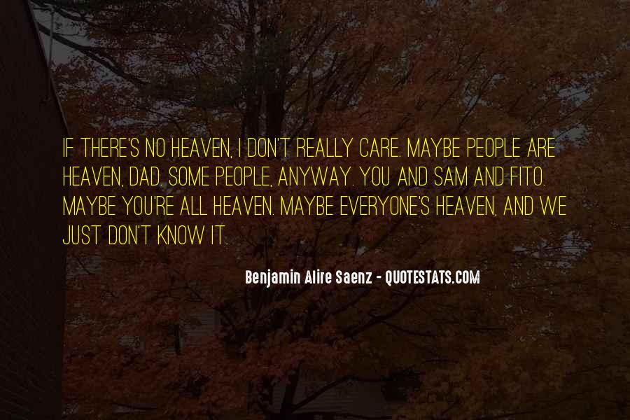 Quotes About A Dad In Heaven #1281100