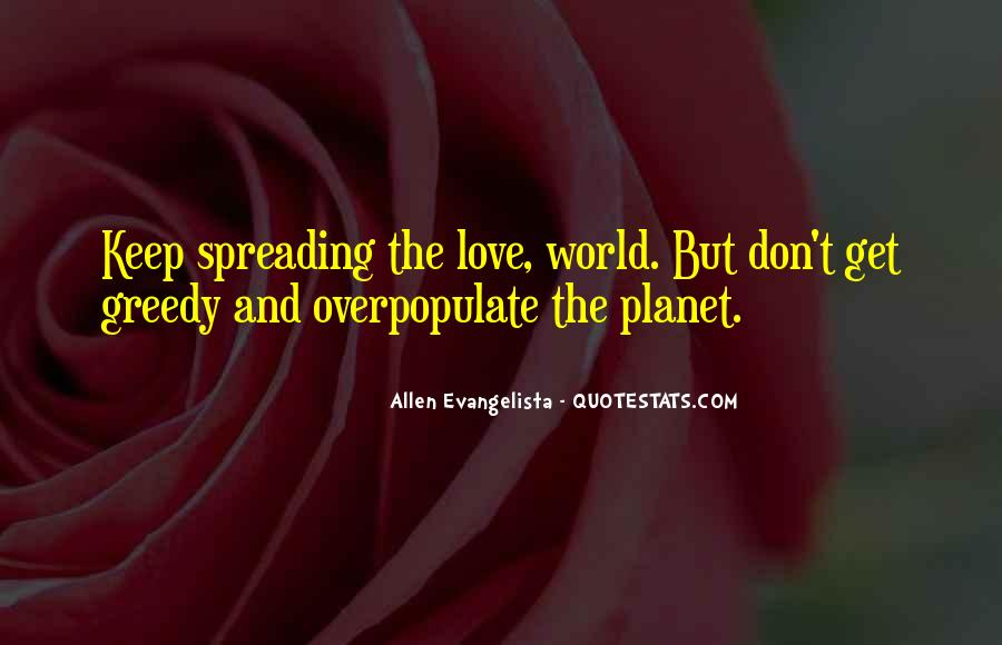 Quotes About Planets And Love #142549