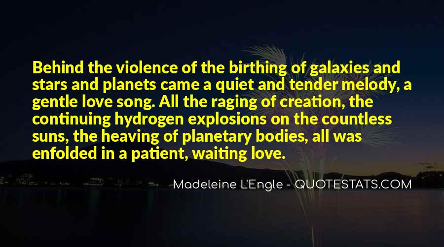 Quotes About Planets And Love #1449717