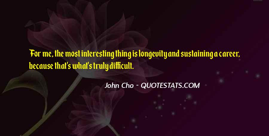 Cho's Quotes #1420679