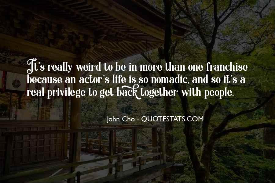 Cho's Quotes #1755056