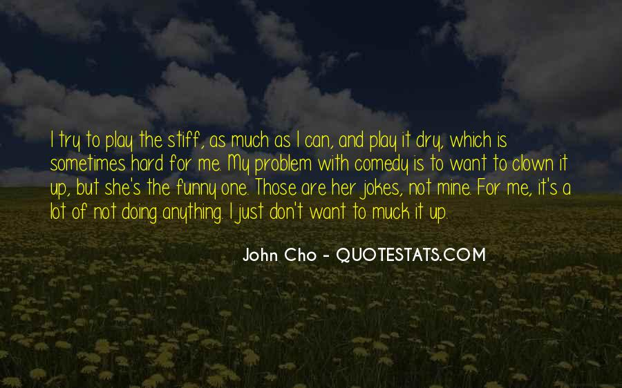 Cho's Quotes #281731