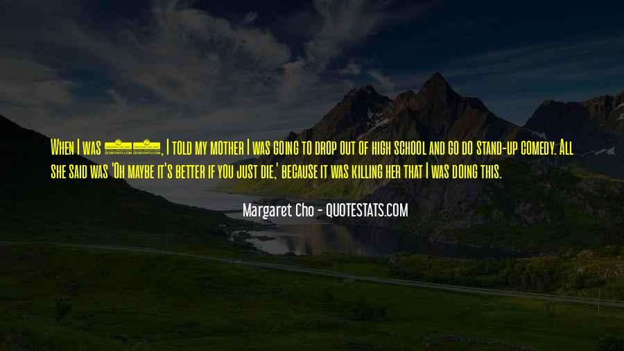 Cho's Quotes #419753