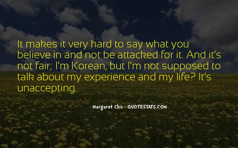 Cho's Quotes #525633