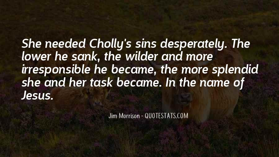 Cholly's Quotes #1377727