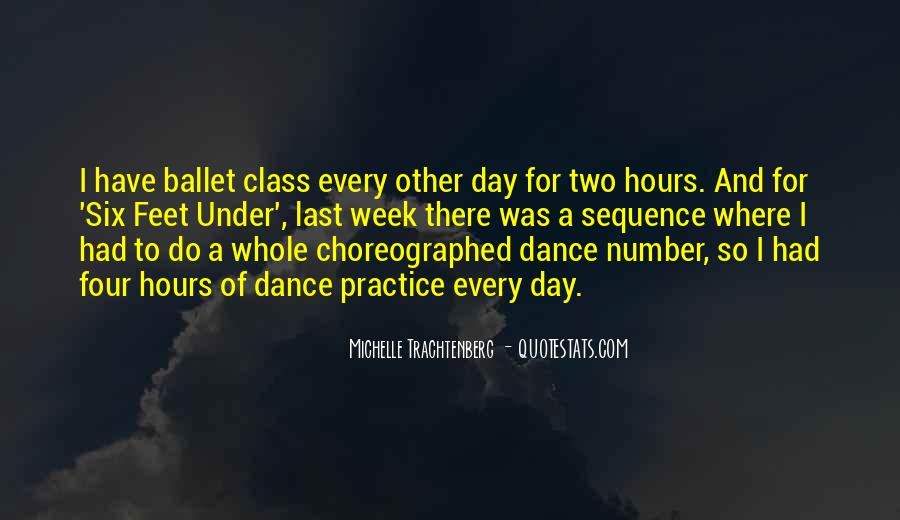 Choreographed Quotes #1660335