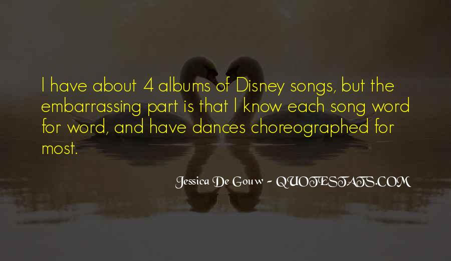 Choreographed Quotes #44225