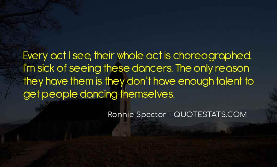Choreographed Quotes #97931