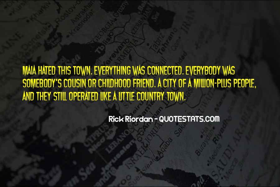 City's Quotes #27790