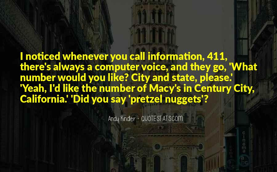City's Quotes #84694