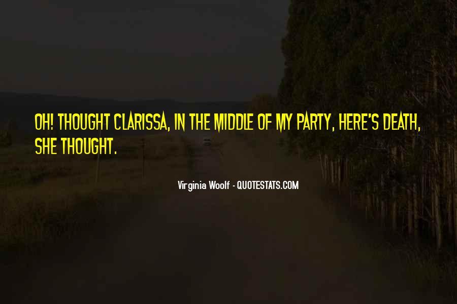 Clarissa's Quotes #1293643