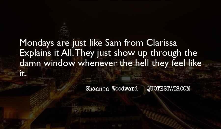 Clarissa's Quotes #244938