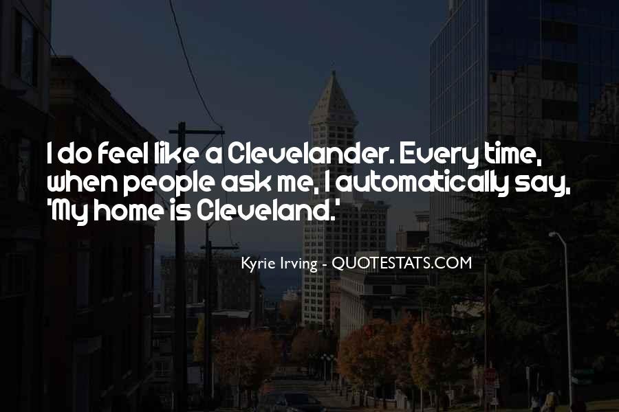 Clevelander Quotes #344260
