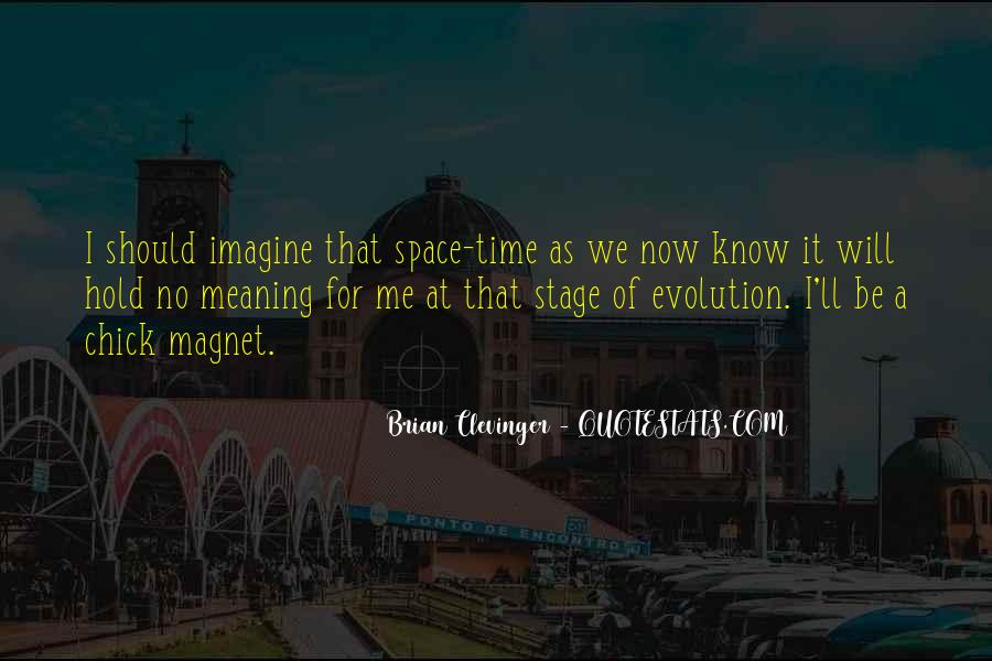 Clevinger Quotes #1752874