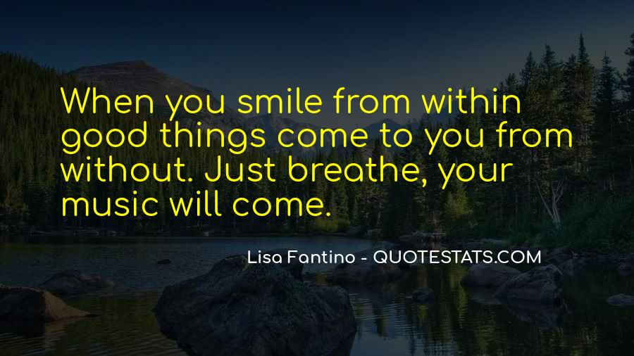 Quotes About When You Smile #256484