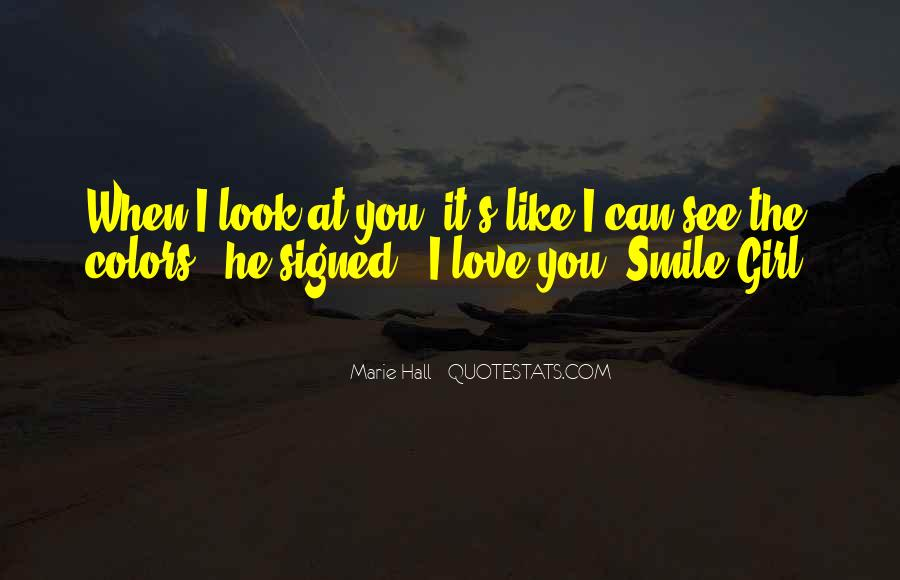Quotes About When You Smile #265184