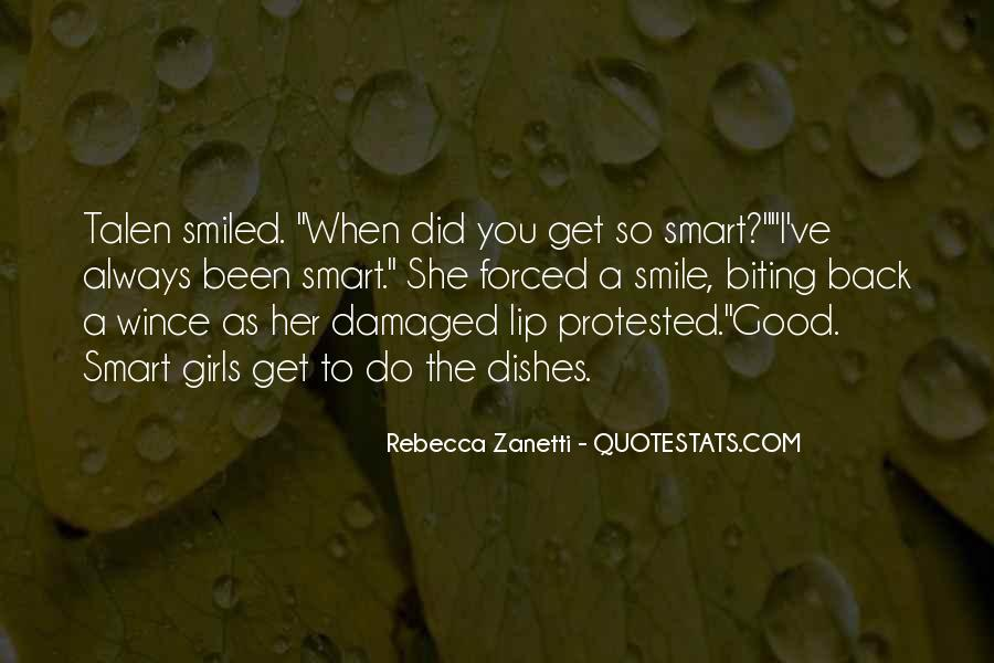 Quotes About When You Smile #77701