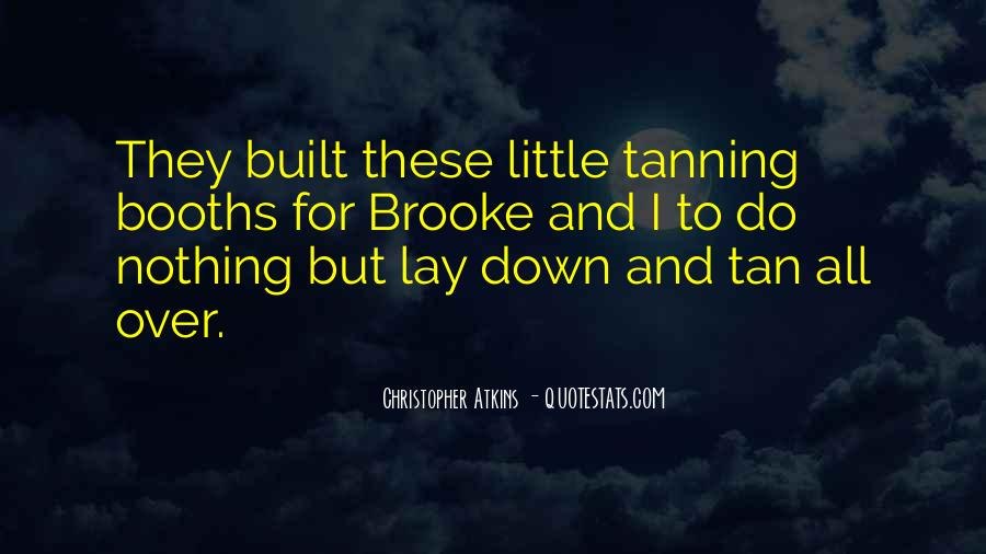 Quotes About Not Tanning #1583050