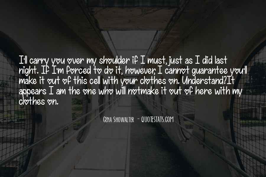 Clothes'll Quotes #1560718