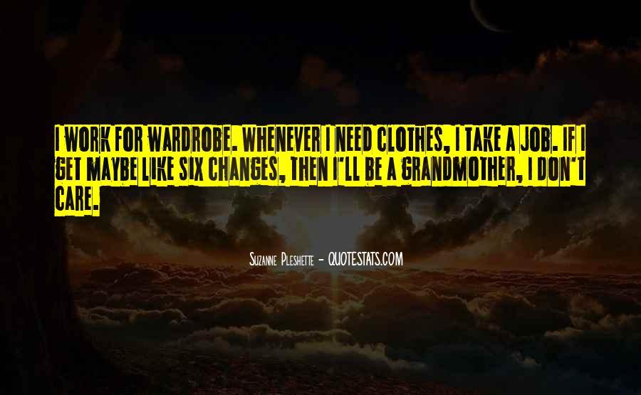 Clothes'll Quotes #36667