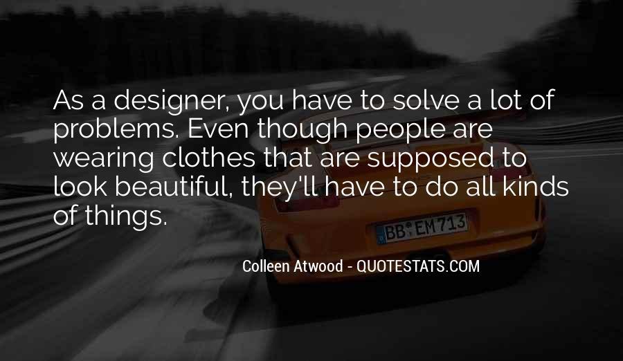 Clothes'll Quotes #607578