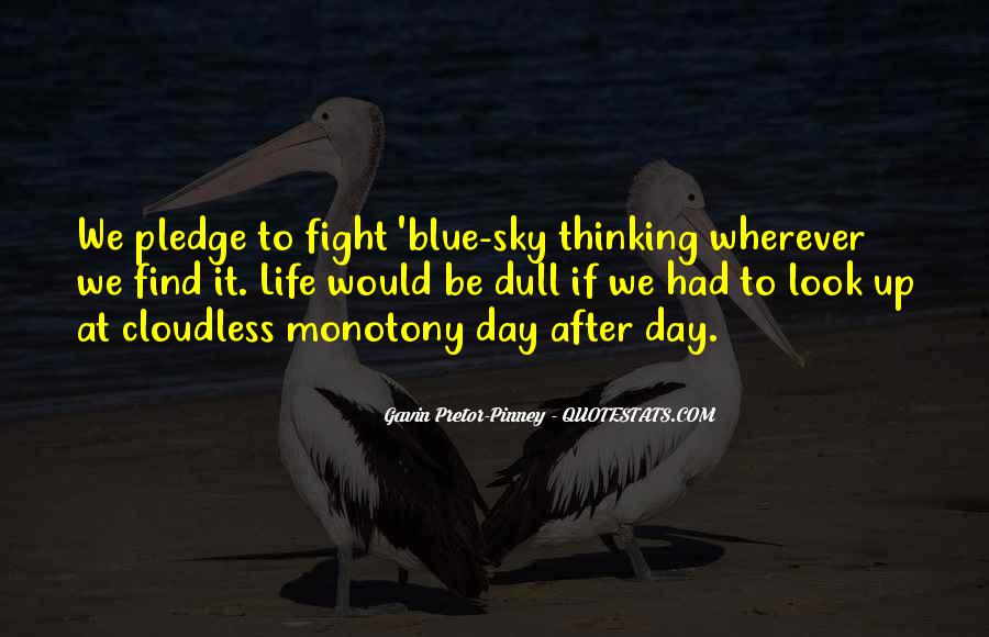Cloudless Quotes #915494
