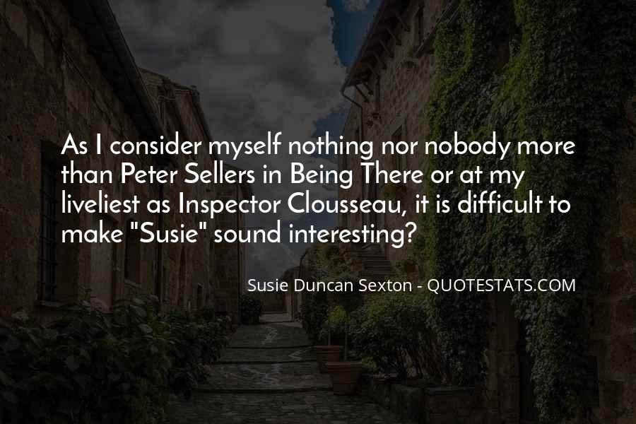 Clousseau Quotes #96273