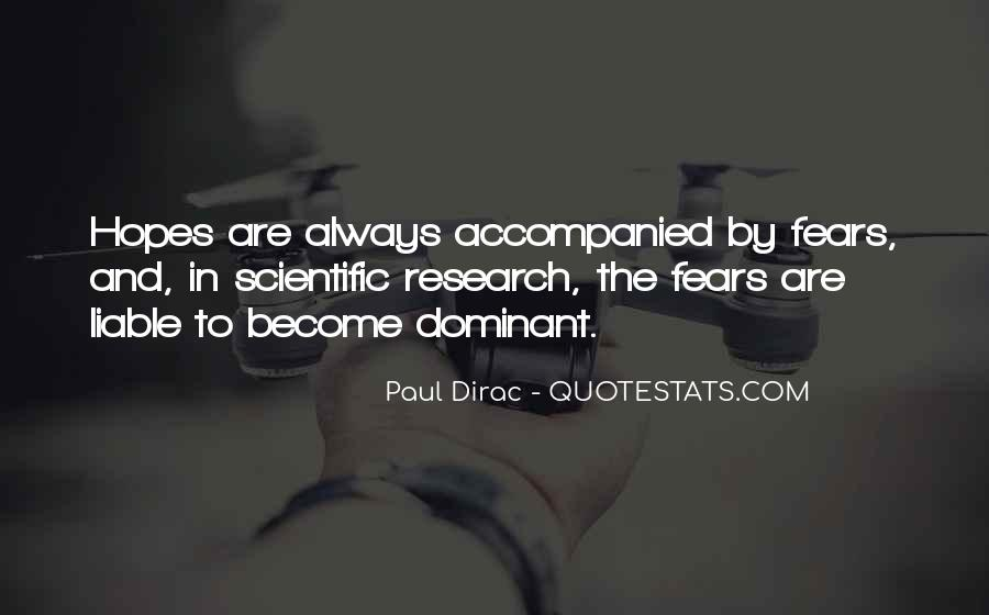 Quotes About Scientific Research #1002726