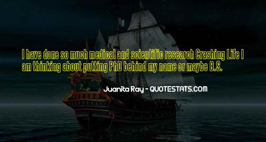 Quotes About Scientific Research #1061455