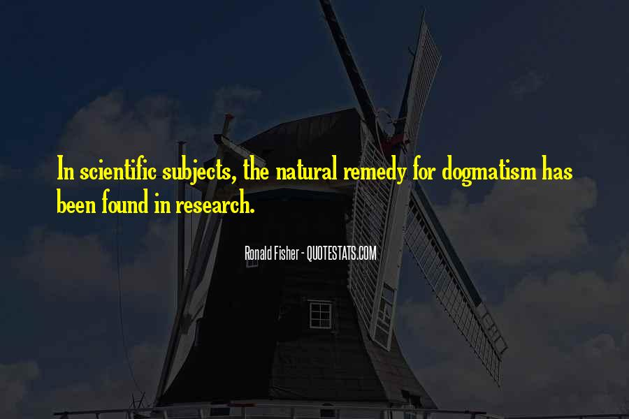 Quotes About Scientific Research #111199