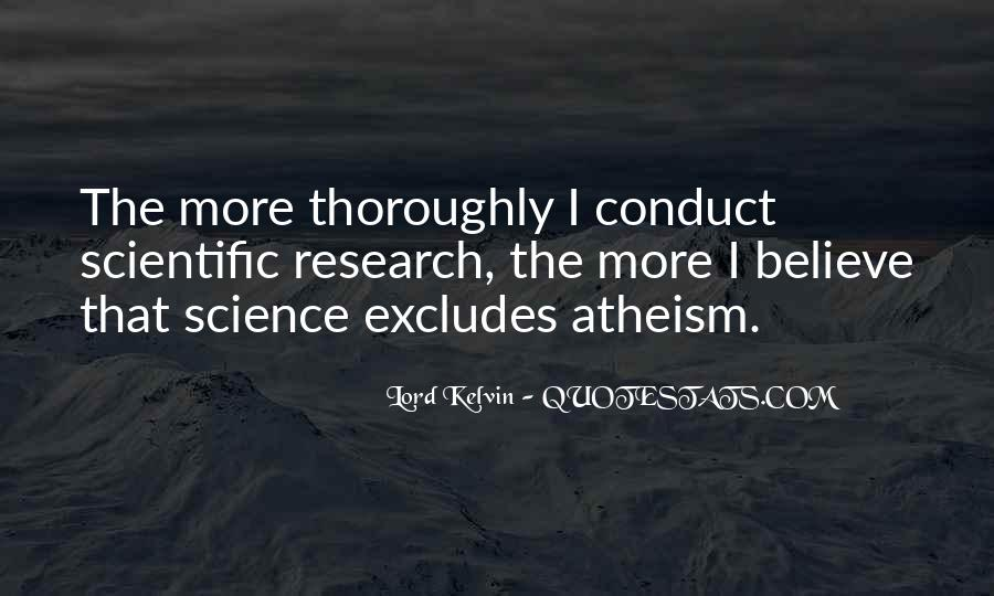 Quotes About Scientific Research #208864